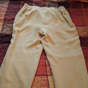 Dana Buchman Pants - Dana Buchman silk pants